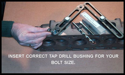 how to remove a broken bolt from a cylinder head. Black Bedroom Furniture Sets. Home Design Ideas